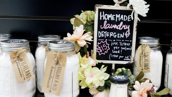 The Sleepy Hollow offers lots of local products including homemade laundry detergent.