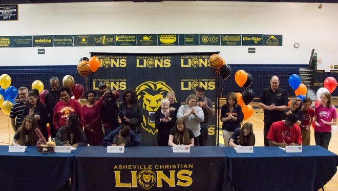 ACA athletes signed with college programs on Friday