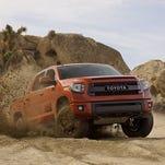 Toyota TRD Pro Series slam-bang off-roaders