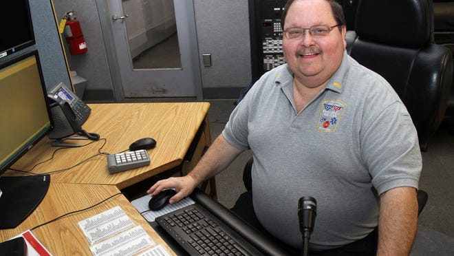 """Felix """"Hap"""" Hughes, the last of the original fire dispatchers hired for Westchester County's """"60 Control,"""" is retiring after three decades behind the microphone."""