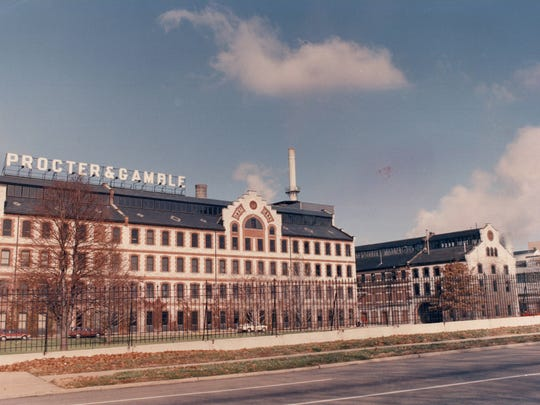Procter & Gamble's Ivorydale manufacturing complex in 1988.
