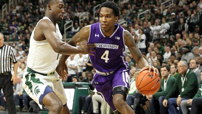 Vic Law is averaging 18.8 points per game in his final season at Northwestern.