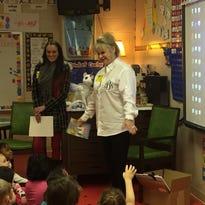 Local author visits Jefferson kindergartners