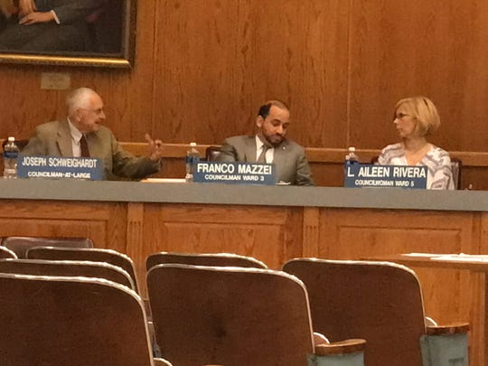 At a council meeting May 17, Councilman Joseph Schweighardt raised ethics issues surrounding Council President and mayor-hopeful Lonni Miller Ryan's tax assessment appeal lawsuits, which are being handled in tax court by township officials she helped appoint.