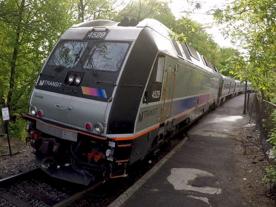 The 8:00 a.m. express train leaves the Spring Valley