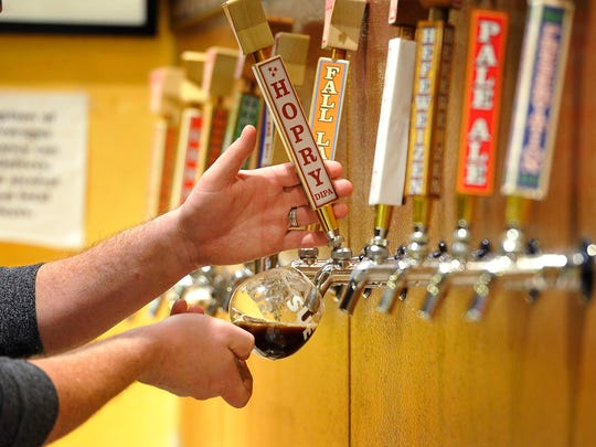 There a lots of different types of beer on tap in Nashville now that the craft beer culture is growing. Wednesday Nov. 11, 2015, in Nashville, Tenn.
