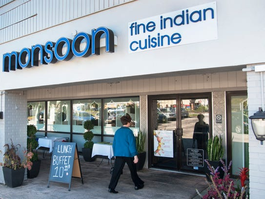Monsoon Fine Indian Cuisine is located in the Barclay Farms Shopping Center, where it offers indoor, outdoor and take-out dining.