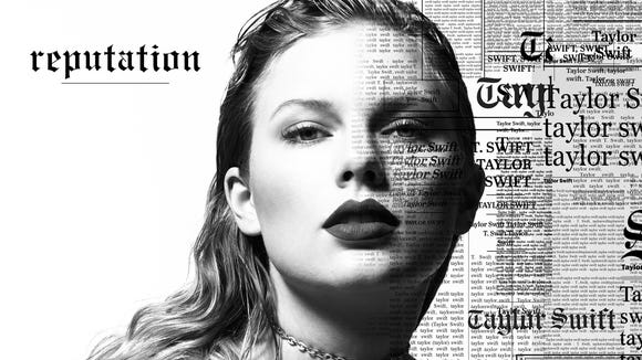 This cover art for Taylor Swift's 'reputation.'