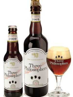 Three Philosophers beer by Brewery Ommegang, Cooperstown, has won numerous awards since its debut in 2003.