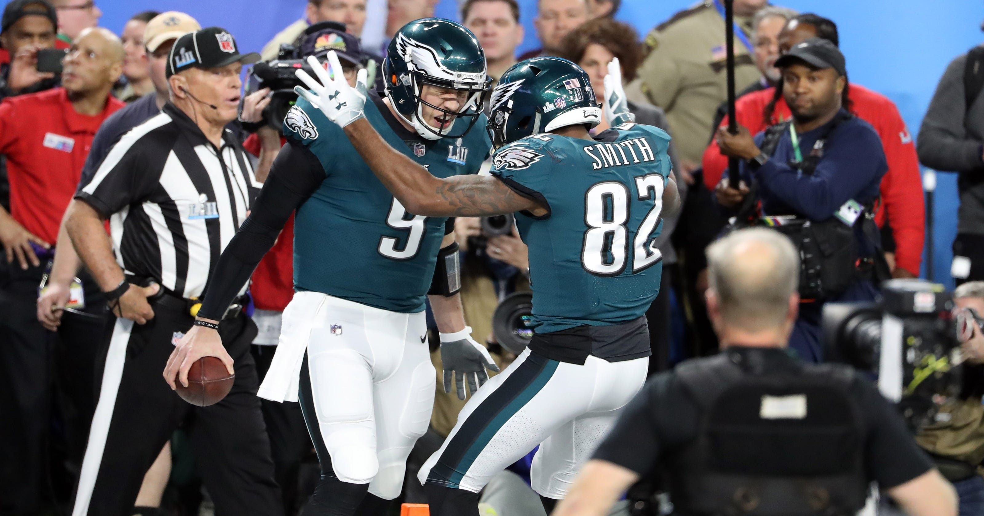 the best attitude 3d822 6df6e Super Bowl LII quarter-by-quarter: Eagles vs. Patriots