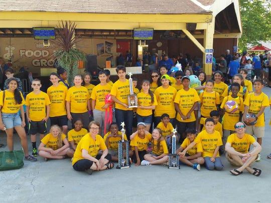 EST 0724 HN Student Wardlaw Dorney Trophies 2015