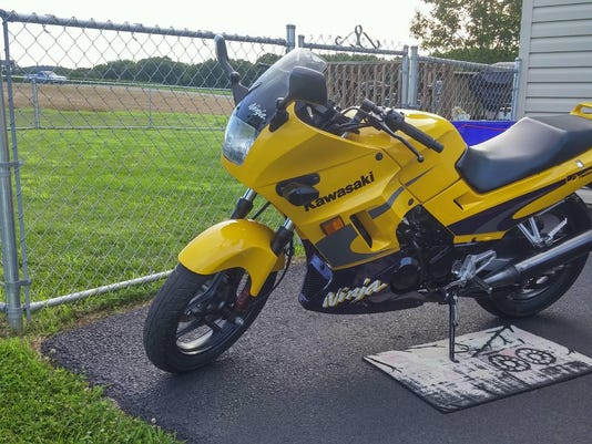McSherrystown Borough Police Department is asking for the public's help to track down this motorcycle that went missing this weekend.