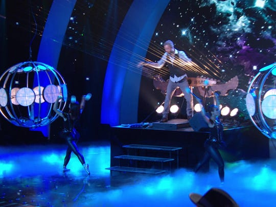 """William and the Earth Harp Collective further pushed the boundaries of the performance experience when they finished third on NBC's hit talent competition """"America's Got Talent."""" The group received massive praise and admiration from fans and all three judges. He performs Saturday, Dec. 12 at Visalia First."""