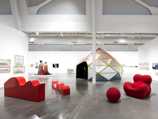 installation at The Berkeley Art Museum