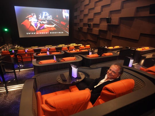 The iPic Theaters Westchester location opened in 2017. It offered eight screens, all with seats that recline, and some with pillows, blankets and table service.