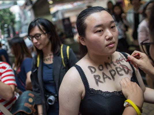 EPA CHINA HONG KONG SLUTWALK POL CITIZENS INITIATIVE & RECALL CHN HO