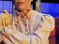 """Fiona Chalmers of Mims portrays Mary Phagan and Alexander Browne of Orlando is Frankie Epps in """"Parade,"""" playing May 8 to 24 at the Emma Parrish Theatre in Titusville."""