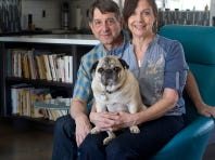 John Rea and Ann Rea bought a bank-owned Haver home and worked with The Ranch Mine to renovate it and make it their own. The home was on last year's Modern Phoenix home tour in April.