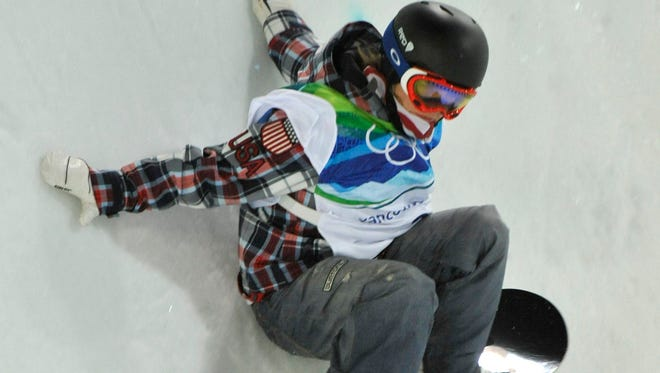 """U.S. snowboarder Elena Hight, shown during the Vancouver Olympics, called Russia's anti-gay law """"sad."""""""