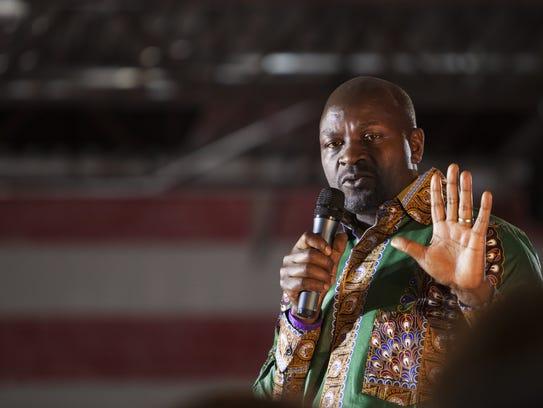 Twesigye Jackson Kaguri, founder of the Nyaka AIDS