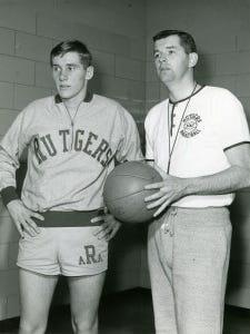 Bob Lloyd, left, with Bill Foster