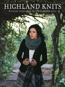 """Highland Knits"" is a new book with chunky-yarn easy-to-knit designs inspired by the Outlander series."