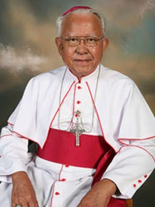 Saipan Bishop Emeritus Tomas A. Camacho