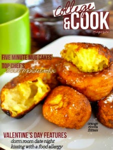 The first issue of College & Cook.
