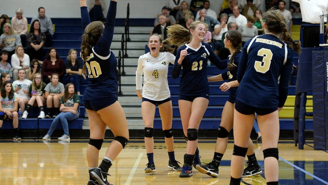Mountain Athletic Conference 4-A champion Roberson is home for Tuesday's second round of the NCHSAA volleyball playoffs.