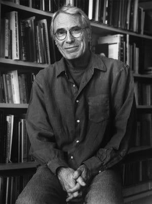 U.S. Poet Laureate Mark Strand, seen here in 2000, died Saturday in New York.