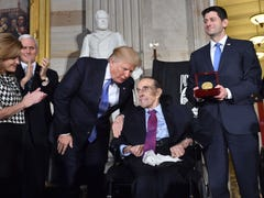 Former senator Bob Dole receives Congressional Gold Medal in Capitol ceremony