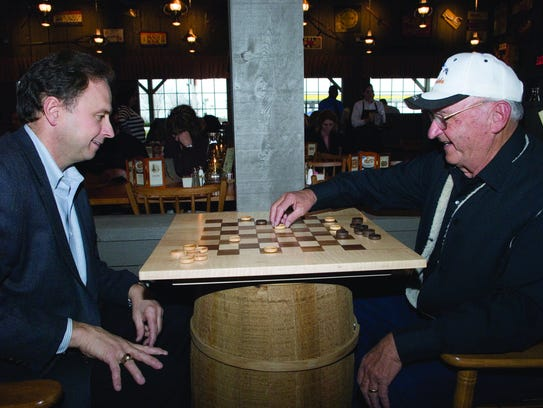 Ray Yoder has been to every Cracker Barrel in the country