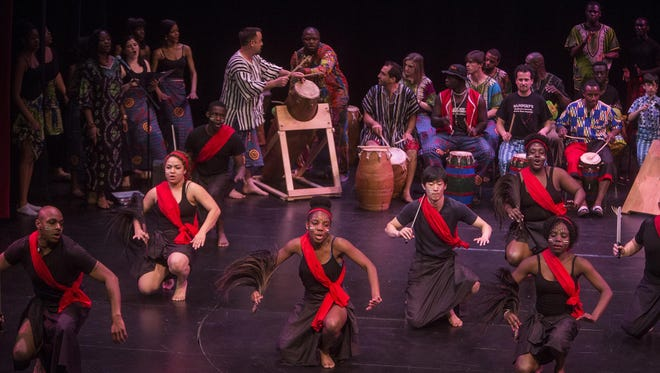 Binghamton University's Nukporfe African Dance and Drumming Ensemble will perform at 7:30 p.m. Wednesday.