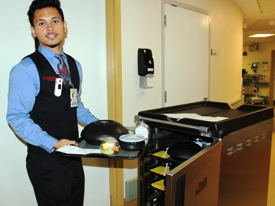 Dial up new room service for custom meals at Vassar