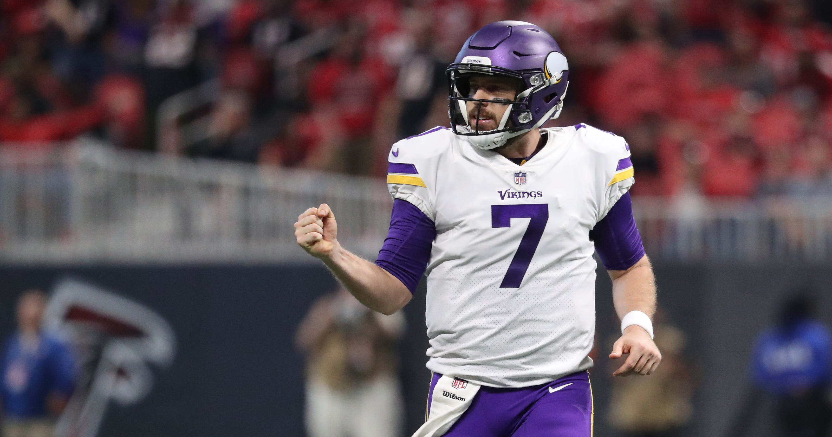 19d9ea00a Case Keenum keeps Vikings calm and confident with unlikely rise