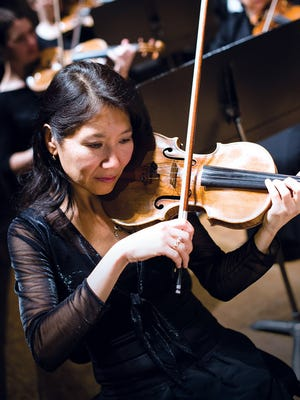 Sarah Kwak will be featured with the Oregon Symphony under the direction of Paul Ghun Kim at 8 p.m. Jan. 25 at Willamette University's Smith Auditorium