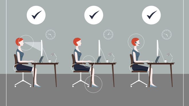 Traditional office jobs can take a toll on your body, but there are things you can do to make your workplace better for your health
