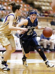 Former Redwood standout Christie O'Daniels, shown here