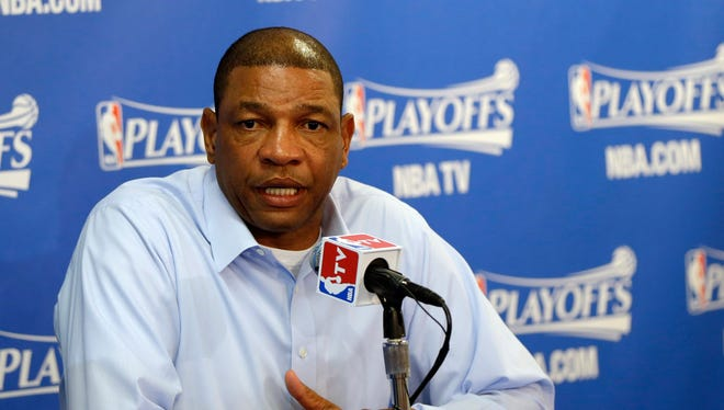 Los Angeles Clippers head coach Doc Rivers, said his team's message was to play vs. Golden State.