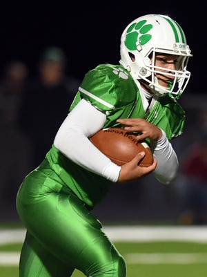 Tyler Knight rushed for five touchdowns in Mogadore's victory over Triway on Friday
