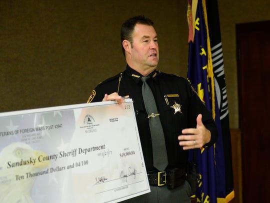 Sandusky County Sheriff Chris Hilton said in accepting