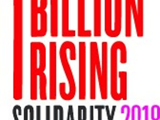 One Billion Rising's theme this year is 'Rise! Resist!