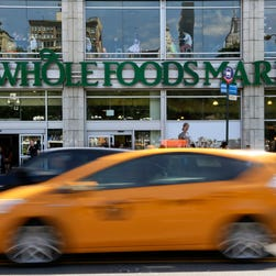 Whole Foods stock - six months