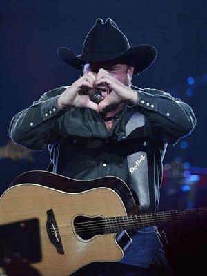 Garth Brooks plays to an adoring crowd at Bridgestone Arena on Dec. 9, 2017, in Nashville.