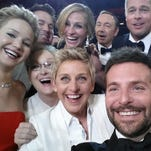 Ellen Degeneres, hosting the Academy Awards for the second time this year, brought her A-game to the ceremony on March 2, 2014. The comedian took this star-studded selfie and posted it to Twitter, enlisting the public to help her break the record for most retweets (held at the time by President Obama). With over 2 million retweets in the first 24 hours, she succeeded with flying colors.