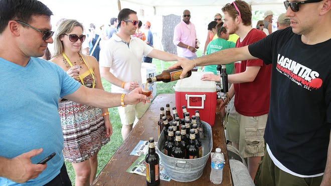 More then 100 local and regional breweries will be on hand for the 21st annual Indiana Microbrewers Festival at Military Park in Downtown Indianapolis.
