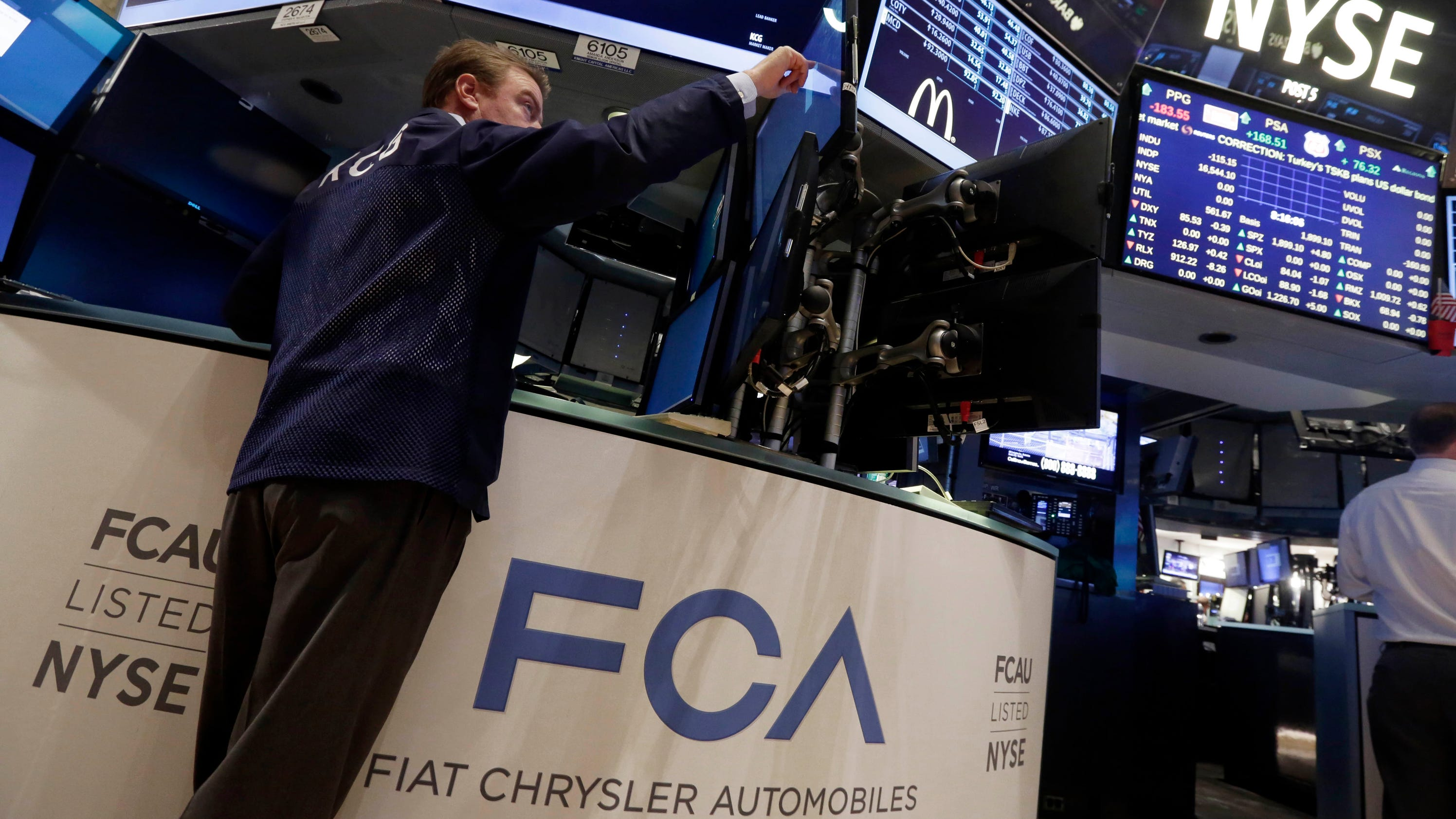 Fiat chrysler opens trading on nyse biocorpaavc Choice Image