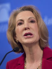 Former Hewlett Packard CEO Carly Fiorina