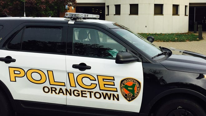 Orangetown police tasered a man in Pearl River, Thursday afternoon