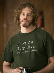 "T.J. Miller as Erlich in ""Silicon Valley,"" an HBO series"